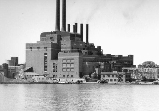 Detroit Edison Power Plants
